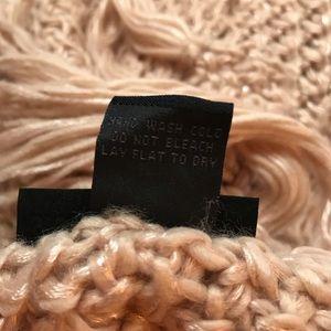 Steve Madden Accessories - Steve Madden Dusty Rose Pink Knit Scarf